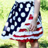 America the Beautiful Skirt