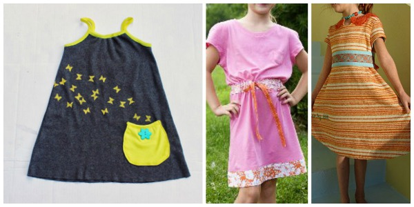 10 Free Dress Patterns for Girls