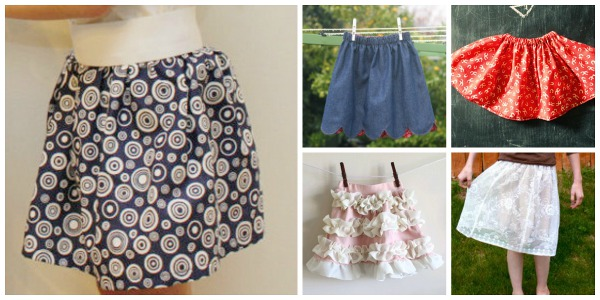 8 DIY Sewing Projects for Girls' Skirts