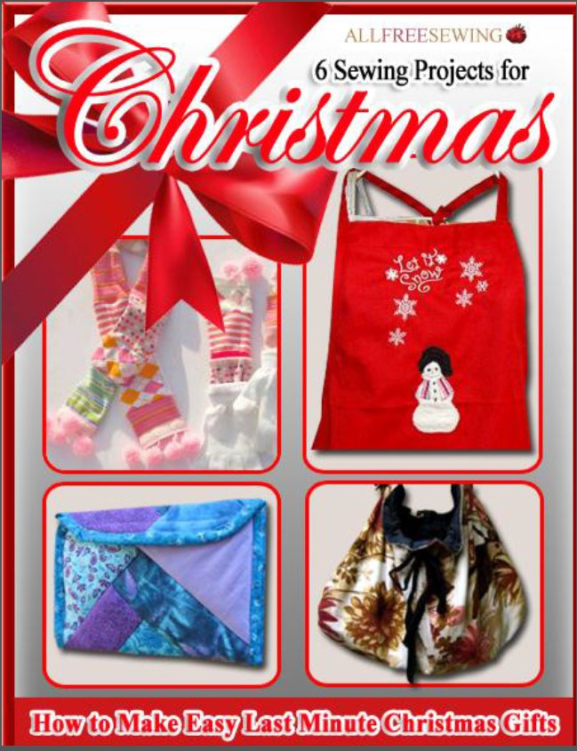 6 Sewing Projects for Christmas