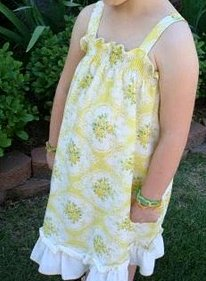A Real Pillowcase Dress Sew Trendy: New Sewing Trends and Projects