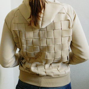 Diy Basketweave Hoodie Tutorial Allfreesewing Com