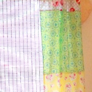 Fat Quarter Curtain Panels For Girl S Room Allfreesewing Com