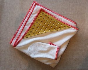 Hooded Baby Towel Great Baby Gift Idea: Sew a Car Seat Liner