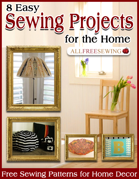 8 Easy Sewing Projects for the Home