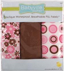 babyville boutqiue pul fabric AllFreeSewing Product Giveaway: Babyville Boutique Cloth Diaper Prize Pack