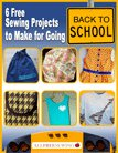 6 Free Sewing Projects to Make for Going Back to School