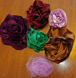Bais Fabric Flower Tutorial