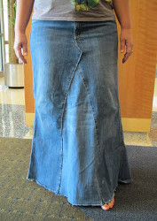Diy denim skirt allfreesewing com