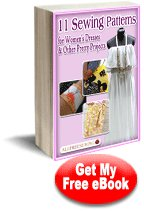 11 Sewing Patterns for Women's Dresses & Other Pretty Projects eBook