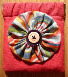 Flexi Fabric Stash Coin Purse