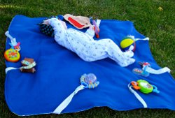Great Outdoor Baby Blanket