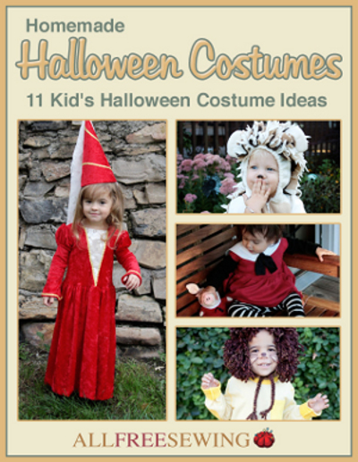 Homemade Halloween Costumes: 11 Kids Halloween Costume Ideas Free eBook