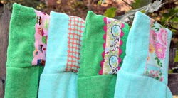 Embellished Hooded Towel Tutorial