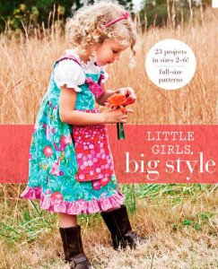 little girls big style AllFreeSewing Book Giveaway: Little Girls Big Style
