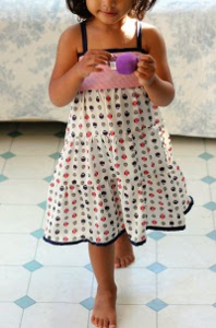 Tiered Girl's Dress Pattern