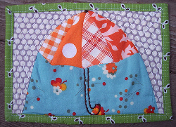 under the umbrella mug rug Sew Trendy: New Sewing Trends and Projects