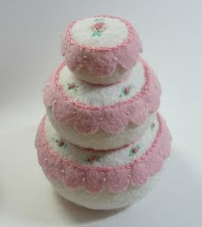 Wedding Cake Pincushion