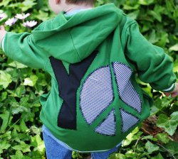 yo peace hoodie Sew Trendy: New Sewing Trends and Projects