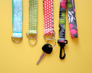 Super Easy Lanyard and Key Chain Wristlet