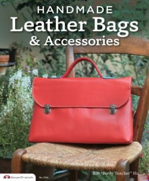 Handmade Leather Bags & Accessories Book Giveaway