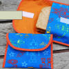 Reusable Fabric Sandwich and Snack Bags
