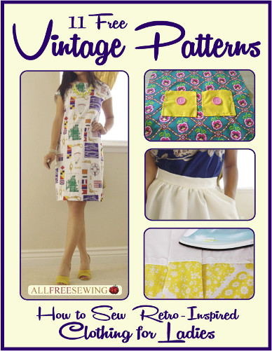 11 Free Vintage Patterns: How to Sew Retro-Inspired Clothing for Ladies